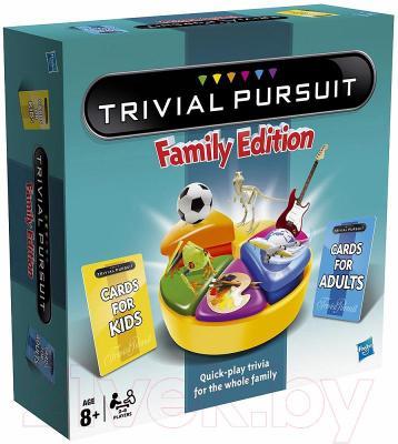 Настольная игра Hasbro Тривиал. Персьюит. Семейная Игра 73013
