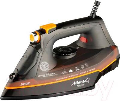 Утюг Atlanta ATH-5535 (черный/оранжевый)