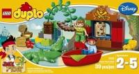 Конструктор Lego Duplo Питер Пэн в гостях у Джейка (10526) -