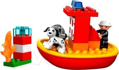 Конструктор Lego Duplo Пожарный катер (10591)