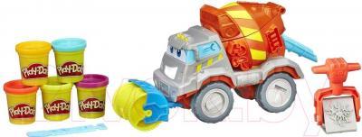 Игровой набор Hasbro Play-Doh Задорный цементовоз B1858