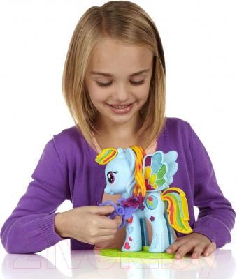 Игровой набор Hasbro Play-Doh Стильный Салон Рэйнбоу Дэш B0011