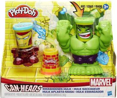 Игровой набор Hasbro Play-Doh Битва Халка B0308