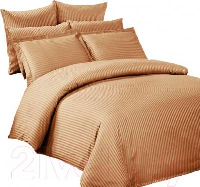 Комплект постельного белья Arya Бамбук Coffe / PBO200X220Cof (200x220)