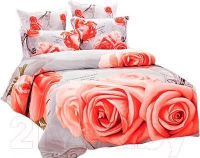 Комплект постельного белья Arya Сатин Печатное 3D Bill / PB200X220Bi (200x220)