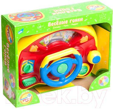 Развивающая игрушка Mommy Love Веселые гонки TV80N