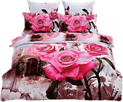 Комплект постельного белья Arya Сатин Печатное 3D Lessie / PB200X220Les (200x220)