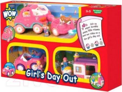 Кукла с аксессуарами WOW Выходной день девочек 80021