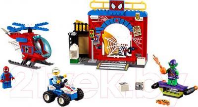 Конструктор Lego Junior Убежище Человека-паука (10687)