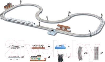 Железная дорога детская Big Motors Скоростной поезд 5577-8