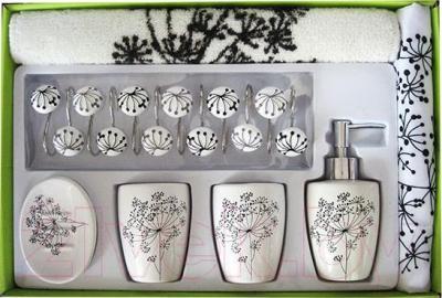 Набор аксессуаров для ванной Arya Edee / NDVEdeeB (белый)