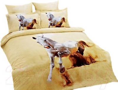 Комплект постельного белья Arya Сатин Печатное 3D Desert / PB200X220DesHY (200x220)