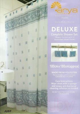 Шторка-занавеска для ванны Arya Just / SDV180Jus (180x180)