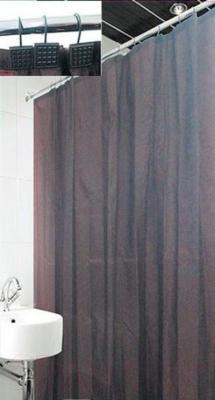 Текстильная шторка для ванной Arya Valerie / SDV180ValB (180x180)