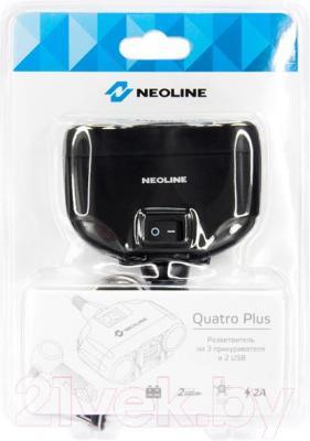 Разветвитель в прикуриватель NeoLine Quatro Plus