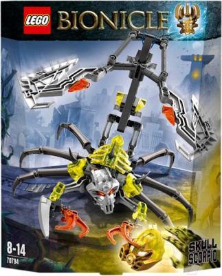 Конструктор Lego Bionicle Скорпионий Череп (70794)