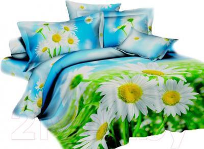 Комплект постельного белья Arya Сатин Печатное Papatya / PB200X220Pap (200x220)