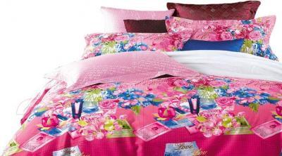 Комплект постельного белья Arya Сатин Печатное Florina / PB200X220Flo (200x220)