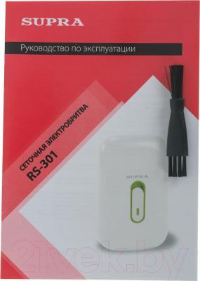 Электробритва Supra RS-301 (белый)