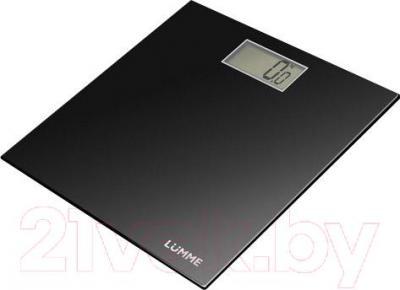 Напольные весы электронные Lumme LU-1306 (черный)