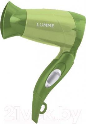Компактный фен Lumme LU-1027 (зеленый нефрит)