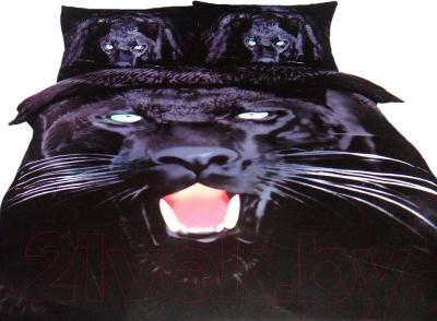 Комплект постельного белья Arya Сатин Печатное Jaguar / PB200X220Jag (200x220)
