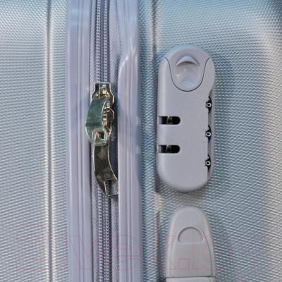 Чемодан на колесах Paso 19-915A - молния чемодана