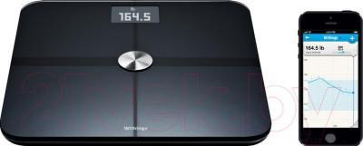 Напольные весы электронные Withings Smart Body Analyzer WS-50 (черный)
