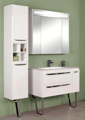 Шкаф с зеркалом для ванной Акватон Блент 100 (1A166502BL010)