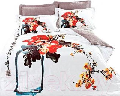 Комплект постельного белья Arya Сатин Печатное Katsumi / PB200X220Kats (200x220)
