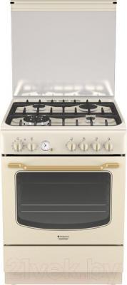 Кухонная плита Hotpoint HT6TM4AF C (OW)