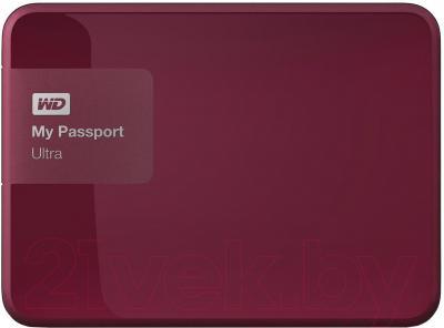 Внешний жесткий диск Western Digital My Passport Ultra 1TB Wild Berry (WDBGPU0010BBY-EESN)