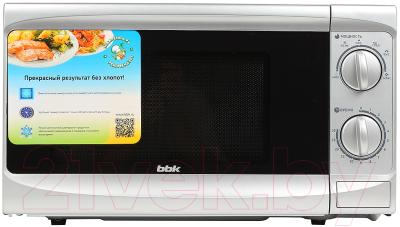 Микроволновая печь BBK 20MWS-707M/S - вид спереди 2