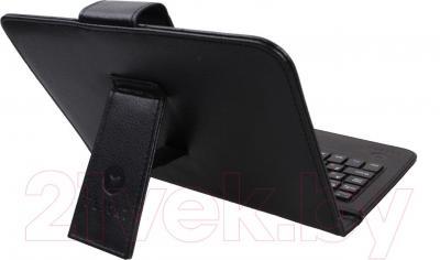 Клавиатура Flycat KC701 (черный) - вид сзади