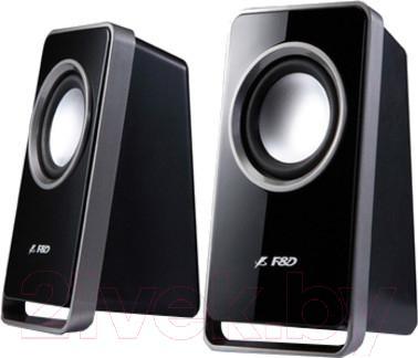 Мультимедиа акустика FnD V520 (черный) - общий вид