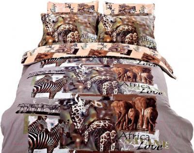Комплект постельного белья Arya Печатное Africa / PB200X220Afr (200x220)