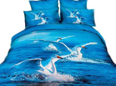 Комплект постельного белья Arya Печатное Albus / PB200X220Alb (200x220)