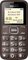 Мобильный телефон Maxvi B2 (кофейный) -