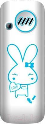 Мобильный телефон Maxvi J1 (синий) - вид сзади без чехла