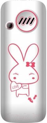 Мобильный телефон Maxvi J1 (розовый)