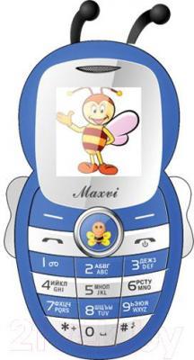 Мобильный телефон Maxvi J8 (синий)
