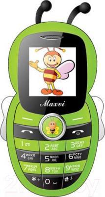 Мобильный телефон Maxvi J8 (зеленый)