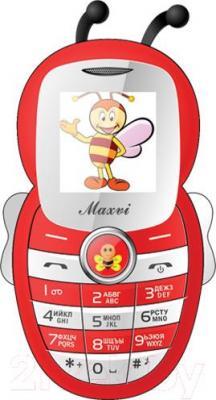 Мобильный телефон Maxvi J8 (красный)