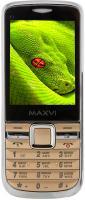 Мобильный телефон Maxvi K1 (золотой) -
