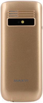 Мобильный телефон Maxvi K1 (золотой)