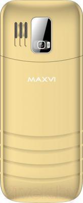 Мобильный телефон Maxvi K6 (золотой)