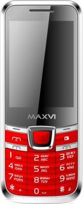 Мобильный телефон Maxvi K6 (красный)