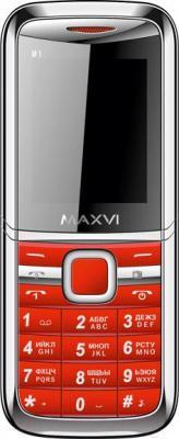 Мобильный телефон Maxvi M1 (красный)