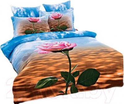 Комплект постельного белья Arya Сатин Печатное 3D Foggy Sea / PB200X220Fog (200x220)