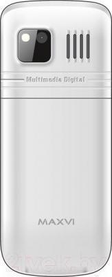 Мобильный телефон Maxvi M2 (белый)